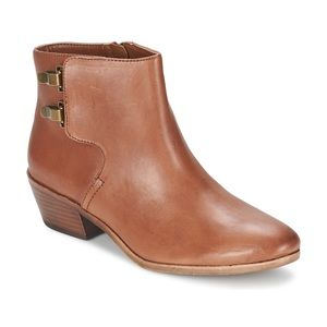 Sam Edelman Peter ankle boots 9.5 camel leather